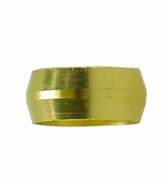 KNEL RING 10 MM MESSING