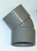 BOCHT PVC 110 MM 45°