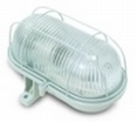LAMP BULL'S EYE MAX. 60 WATT PVC