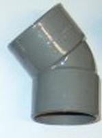BOCHT PVC 125 MM 45°