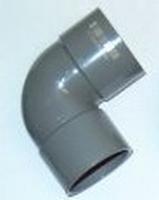 BOCHT PVC. 125 MM 90°