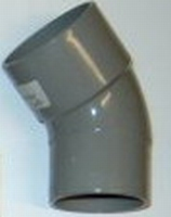 BOCHT+SPIE PVC  75 MM 45°