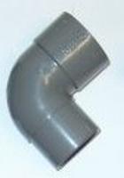 BOCHT+SPIE PVC. 125 MM 90°