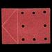 SCHUURPAP.115X160 MM KORREL 60 3ST