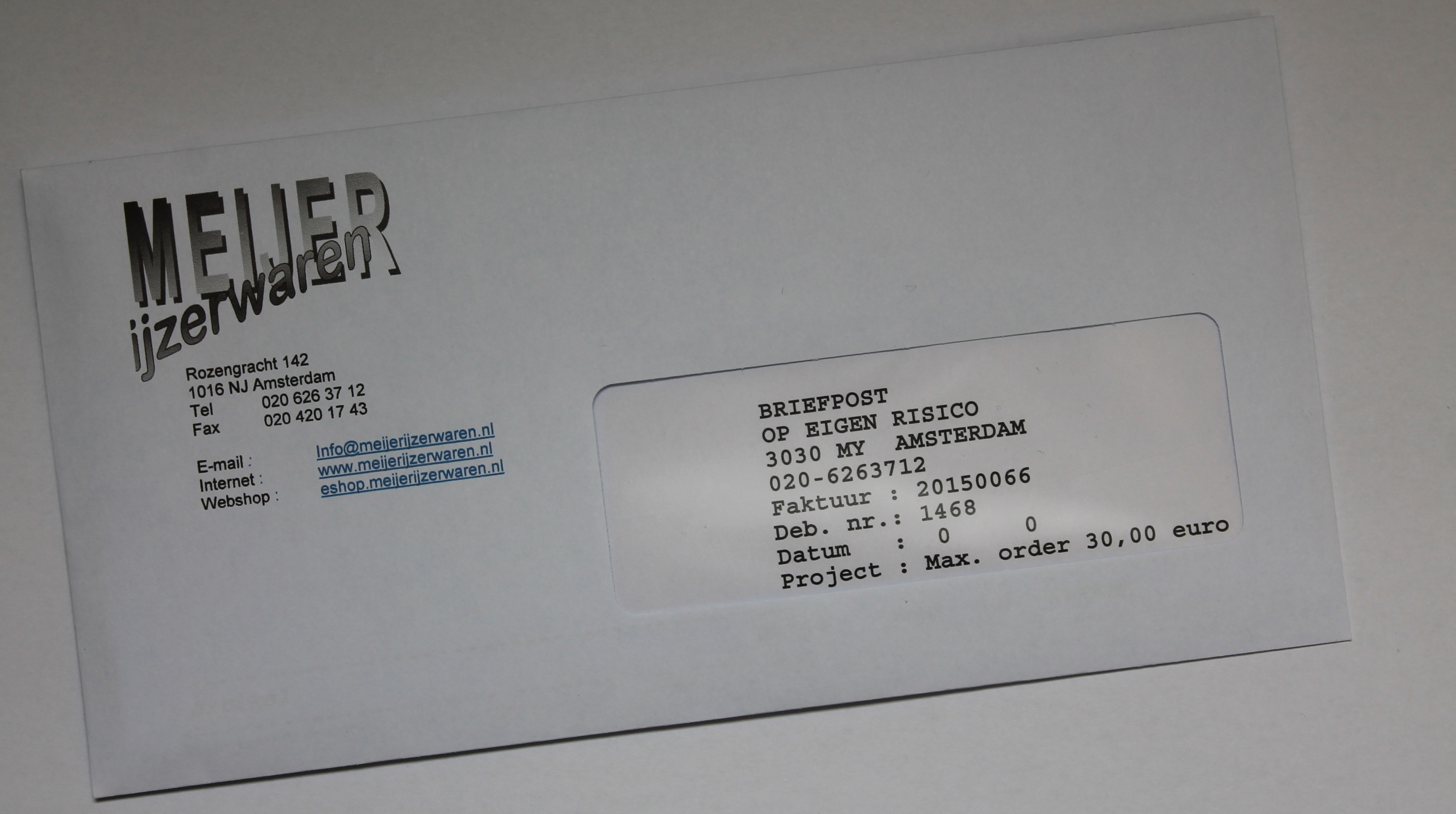 briefpost meijer