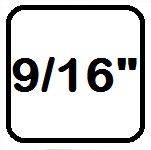 Bouten UNC 9/16